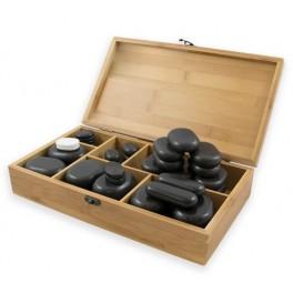 BREATHE  - Set de 45 piedras de basalto.