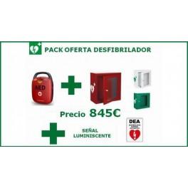 Desfibrilador semi-automático HEART GUARDIAN HR-501 + VITRINA