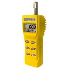 Medidor de CO2, temperatura y humedad