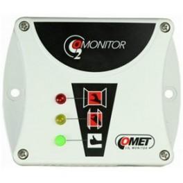Monitor CO2 con sensor para dióxido de carbono incorporado