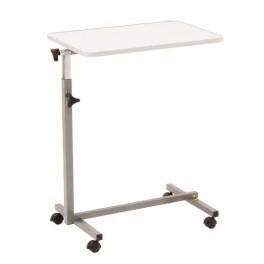 Mesa para cama con tablero orientable y reborde anti - caídas